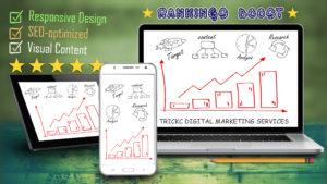Rank Boosting System by TRICKC Digital Marketing Services