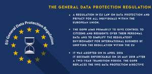 General Data Protection Regulation (GDPR) - 2018