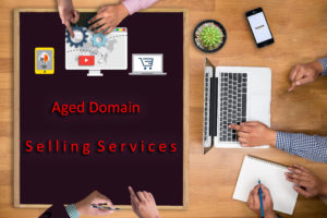 aged domain sell